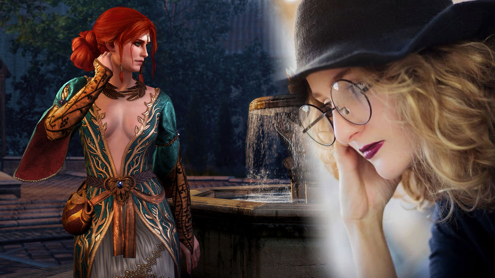 Une cosplayeuse de The Witcher a parfaitement incarne Triss Merigold