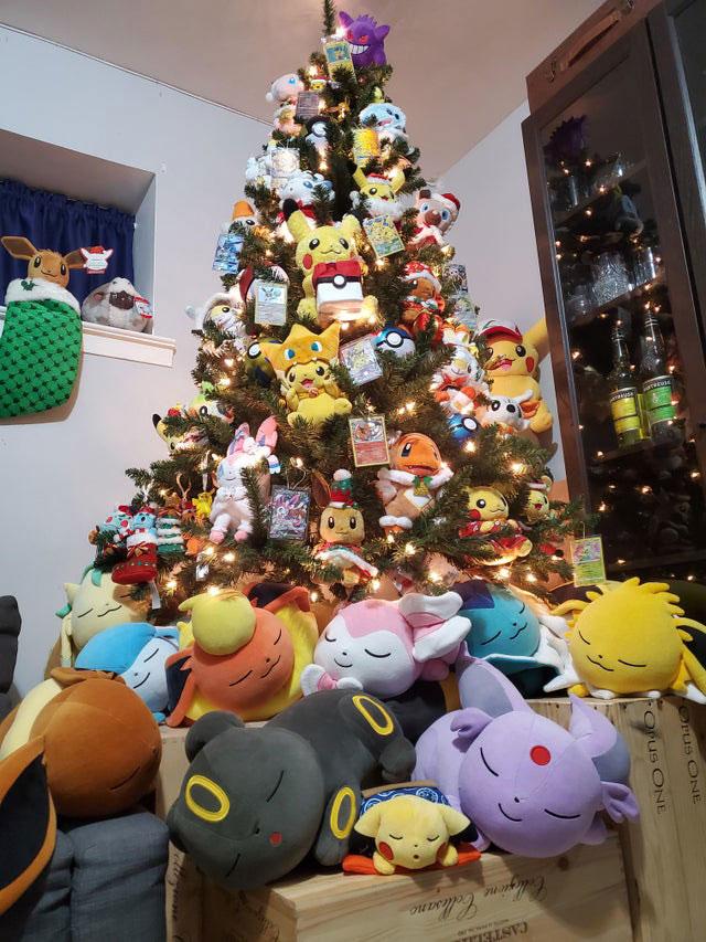 Sapin de Noël Pokémon