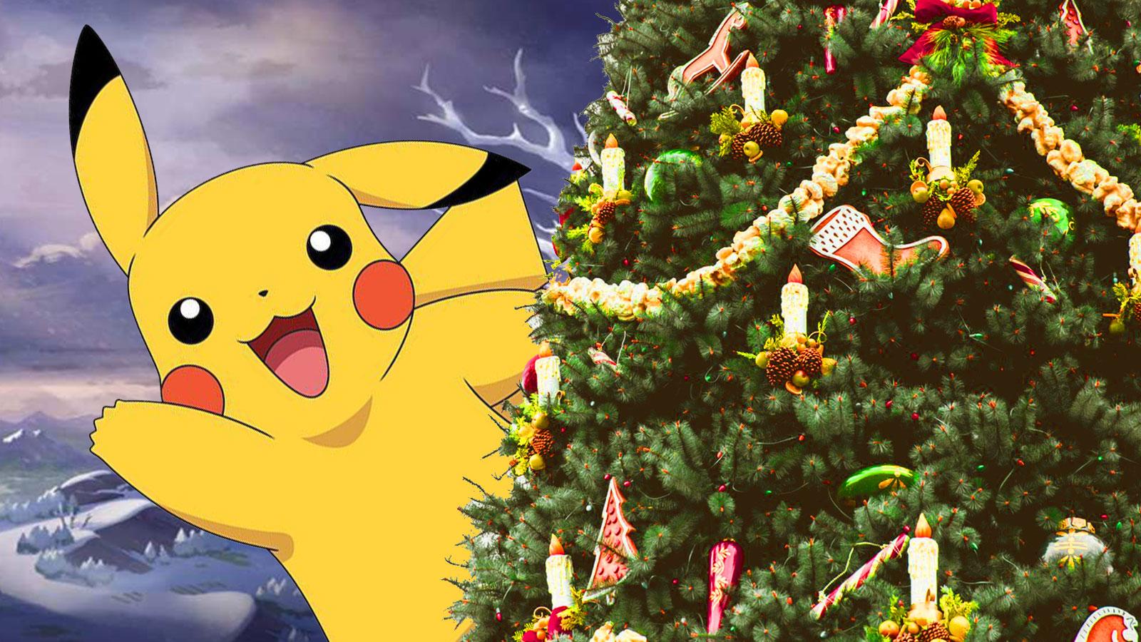 Dessin Pokémon Noël / Coloriage Pokemon / Et aussi à ...