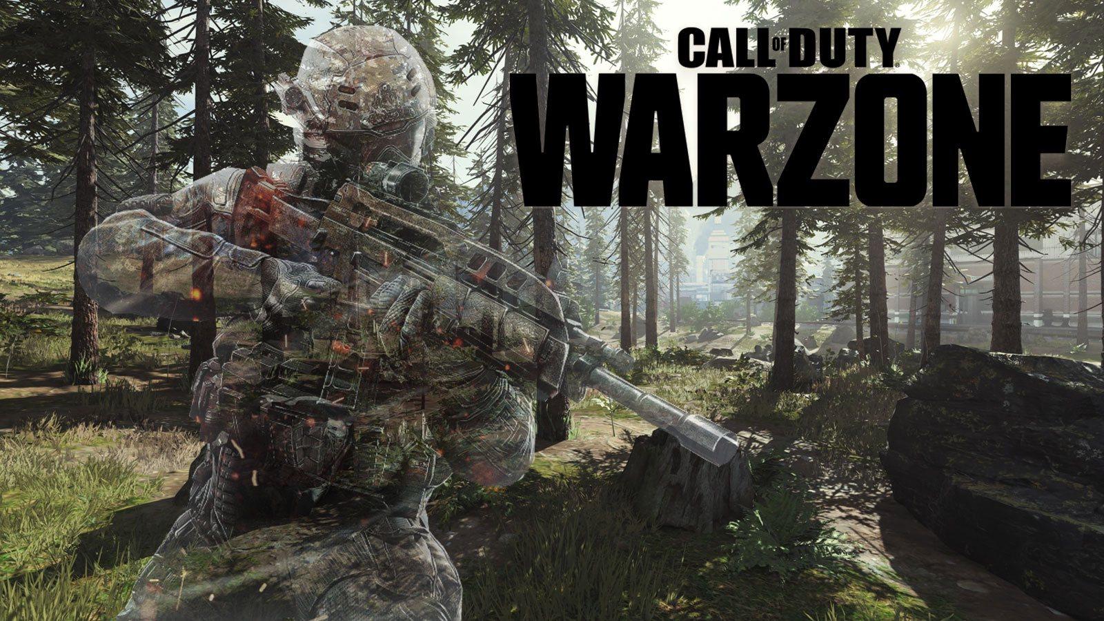 Bug d'invisibilité sur Warzone