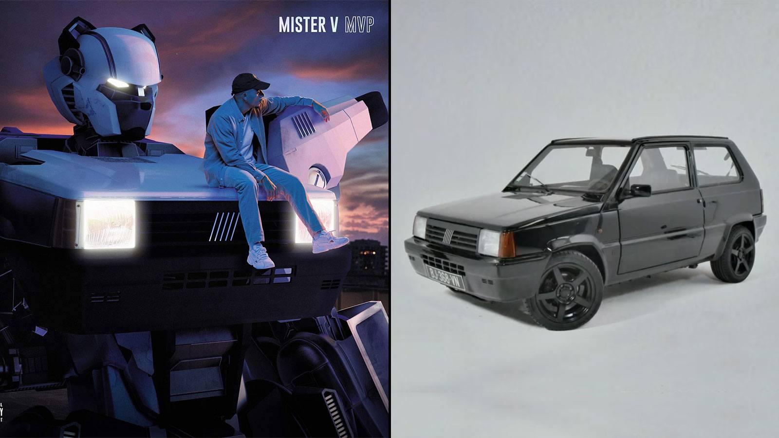 Réédition de l'album MVP de Mister V