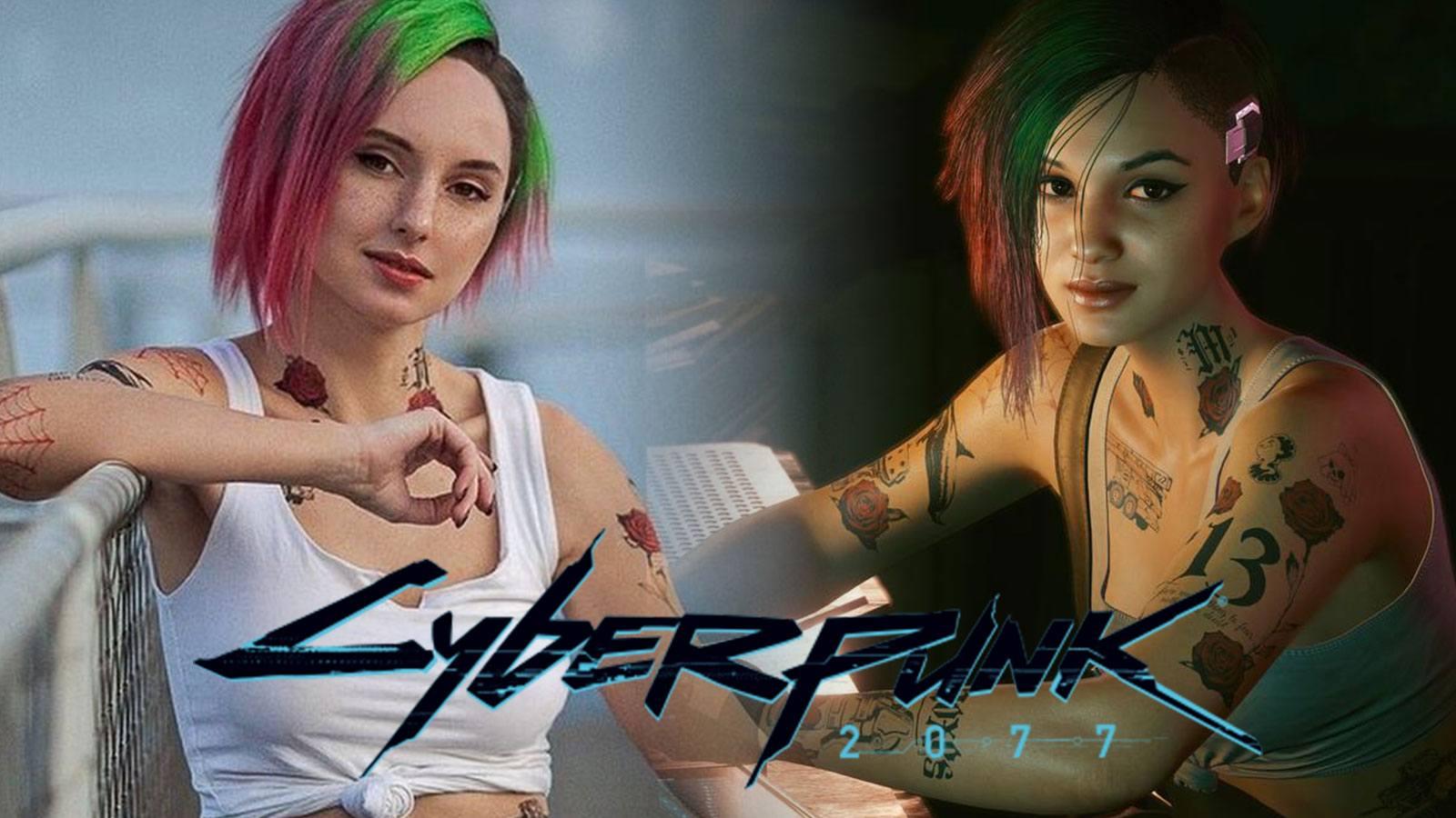 Cosplay de Judy dans Cyberpunk 2077