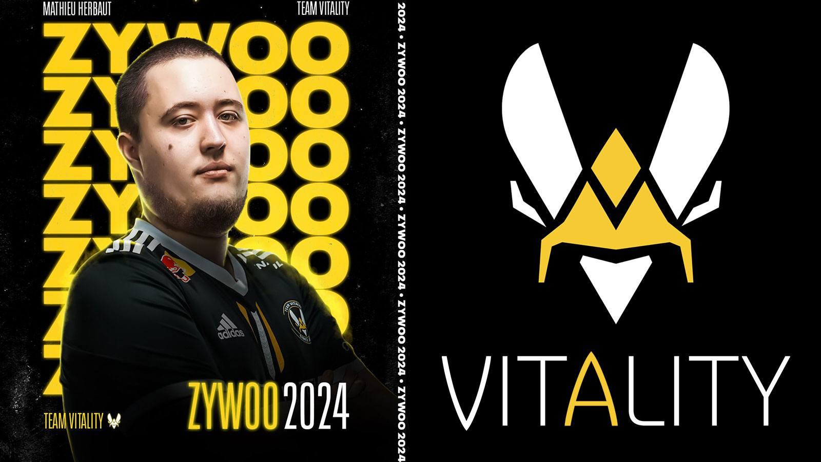ZywOo prolonge son contrat chez Vitality