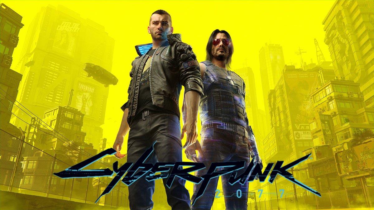 Affiche de Cyberpunk 2077