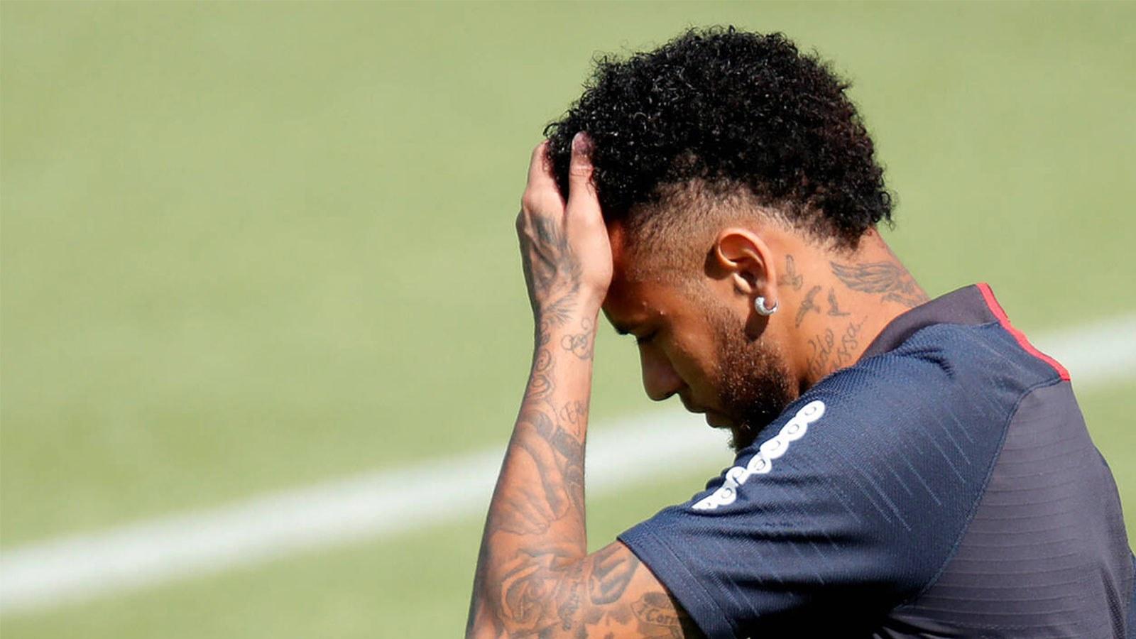 rémi gaillard essaie de conclure un deal avec neymar en