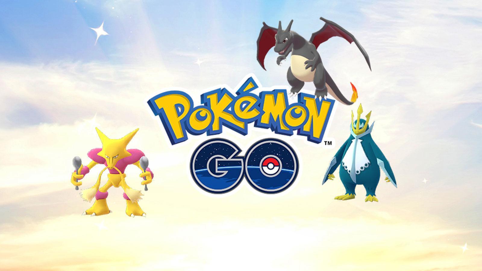 Pokémon Go Dracaufeu Pingoléon Alakazam shiny Niantic