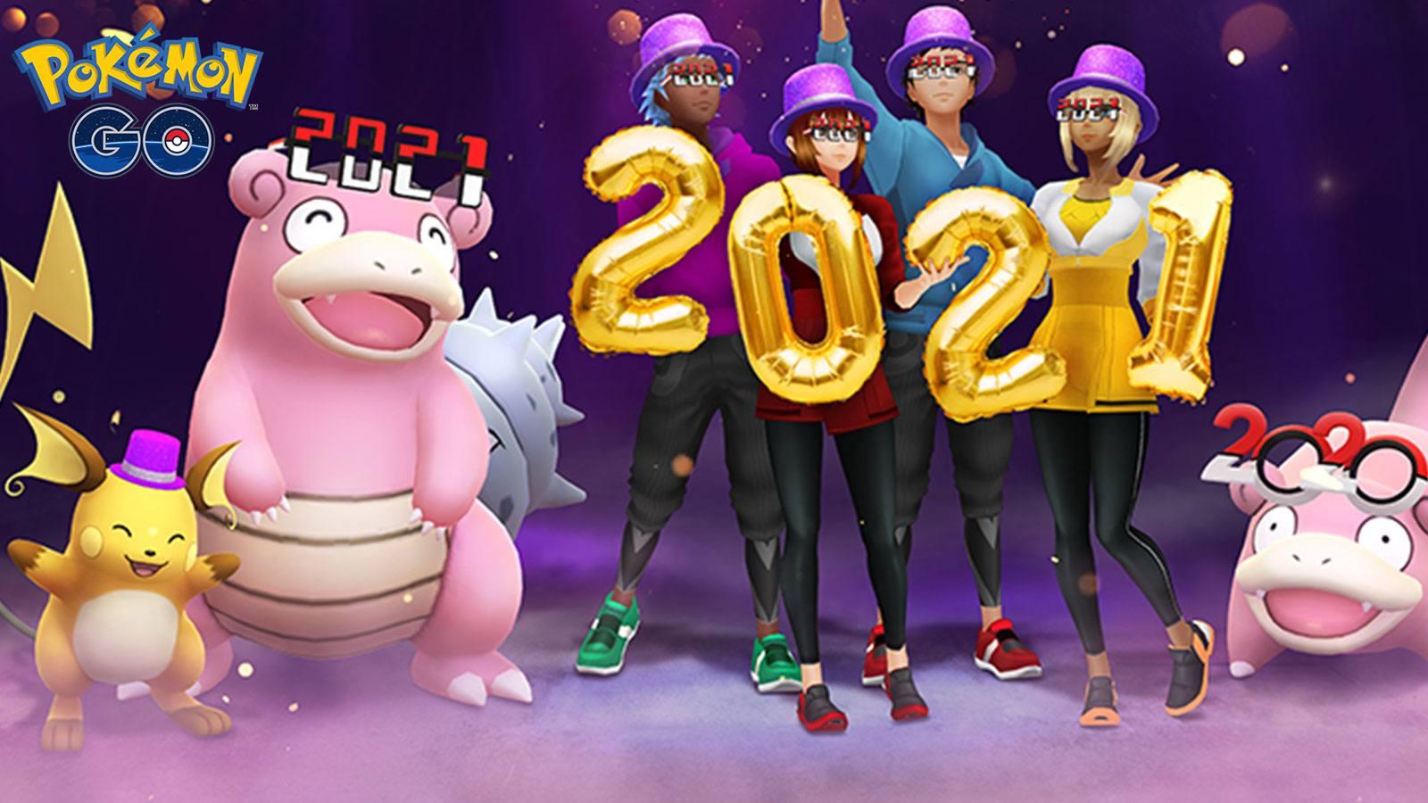 Nouvel An 2020 Pokémon Go Niantic