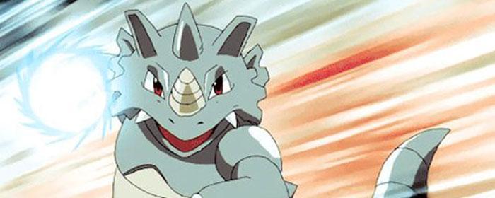 Rhinoféros est le premier Pokémon créé