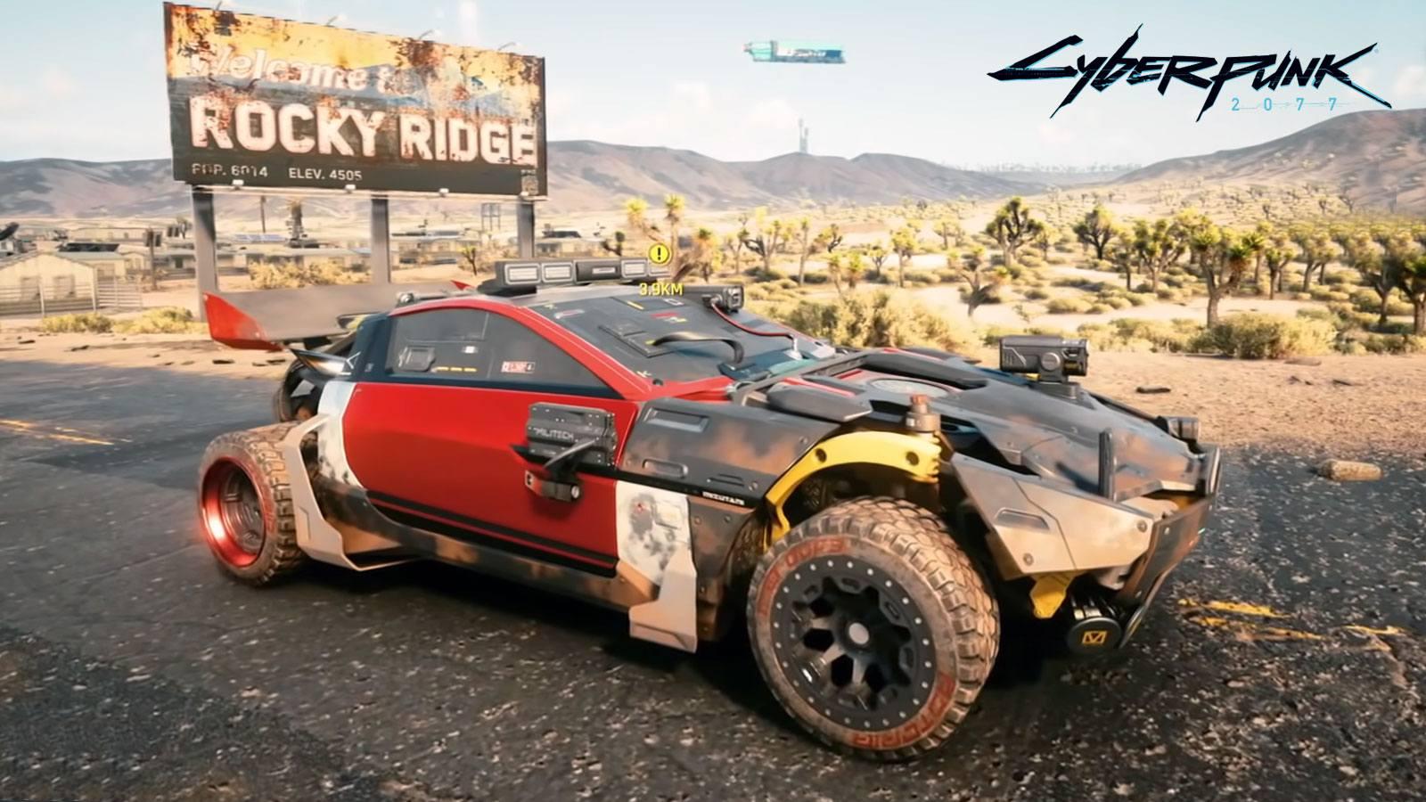 La voiture secrète et gratuite Shion Coyote