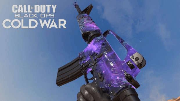Black Ops Cold War AK-47 camouflage dark matter Treyarch