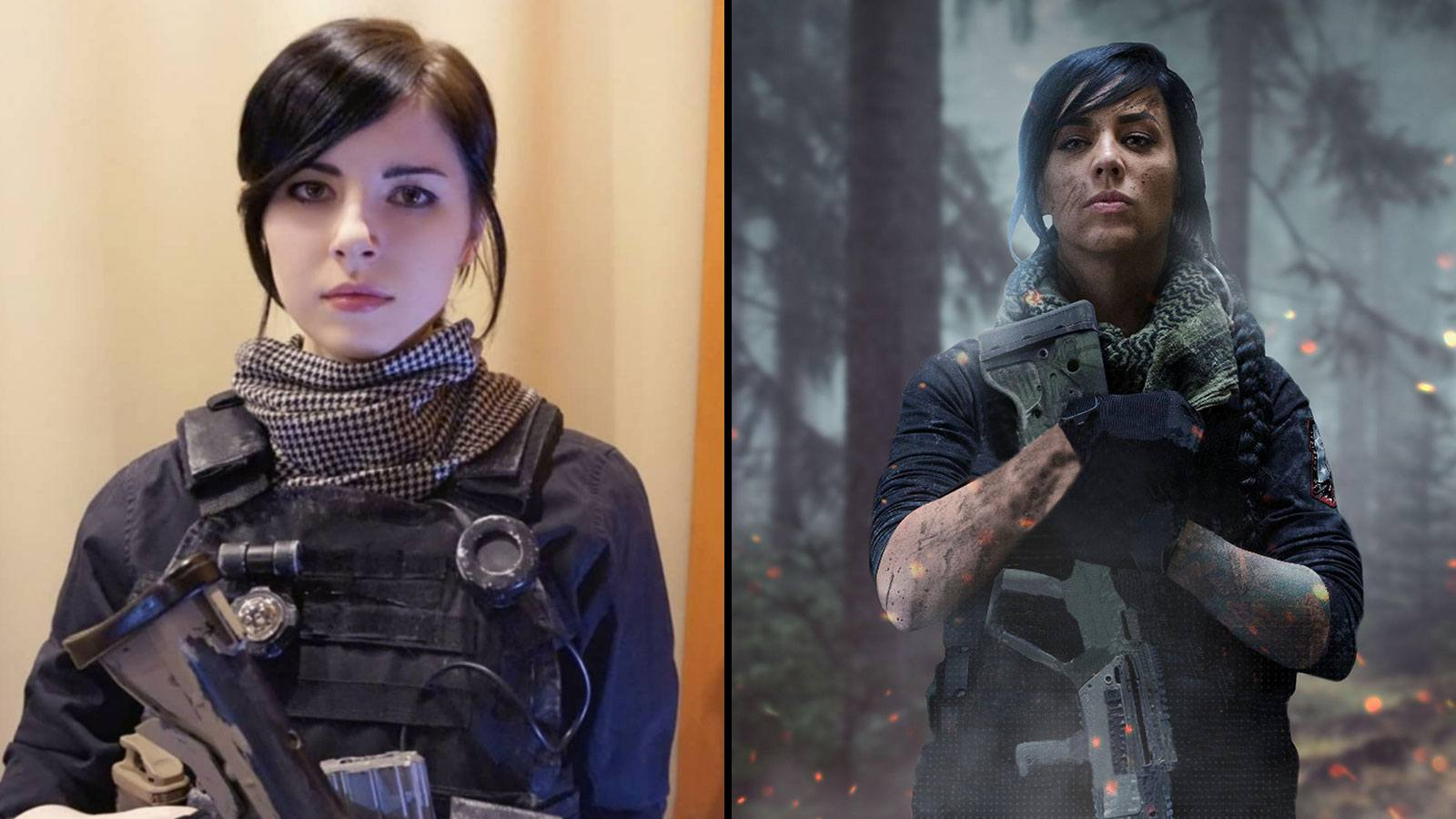 maryydixon cosplay | Opératrice Mara Modern Warfare