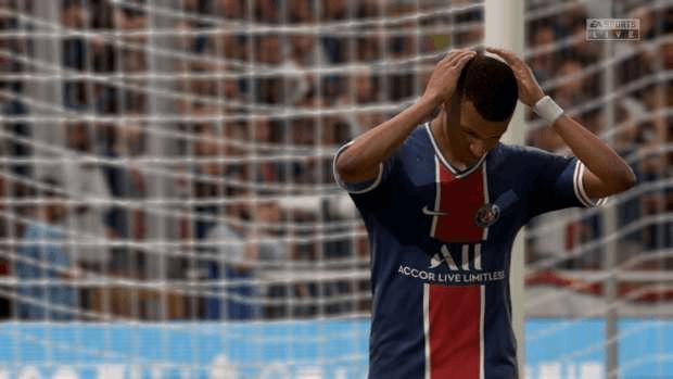 FIFA 21 Mbappe EA SPORTS PSG