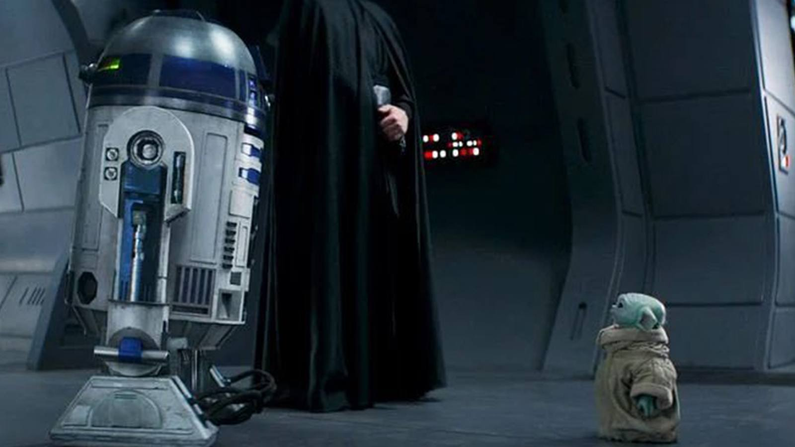 R2-D2 et Grogu The Mandalorian