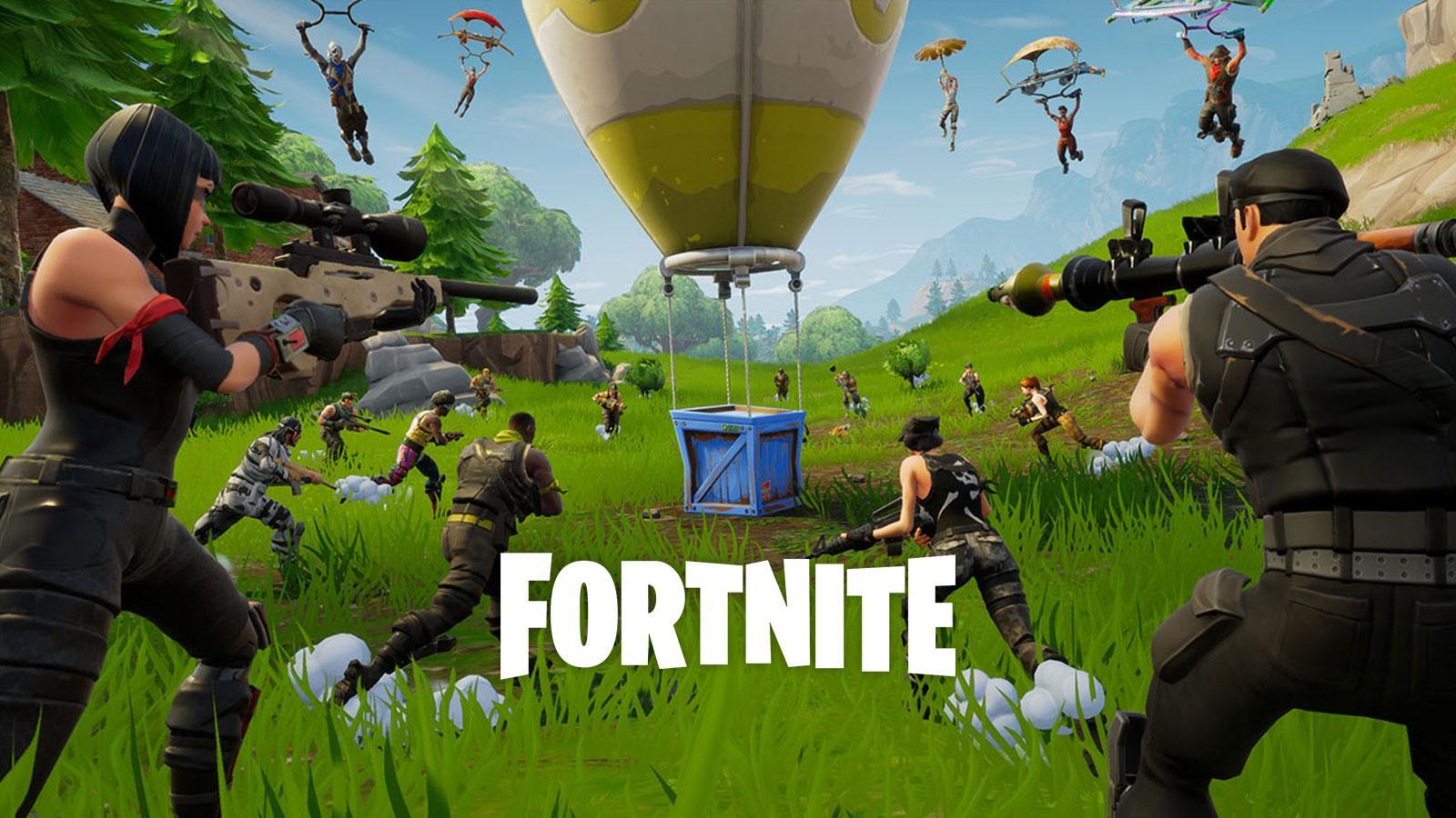Fortnite fuite armes Epic Games