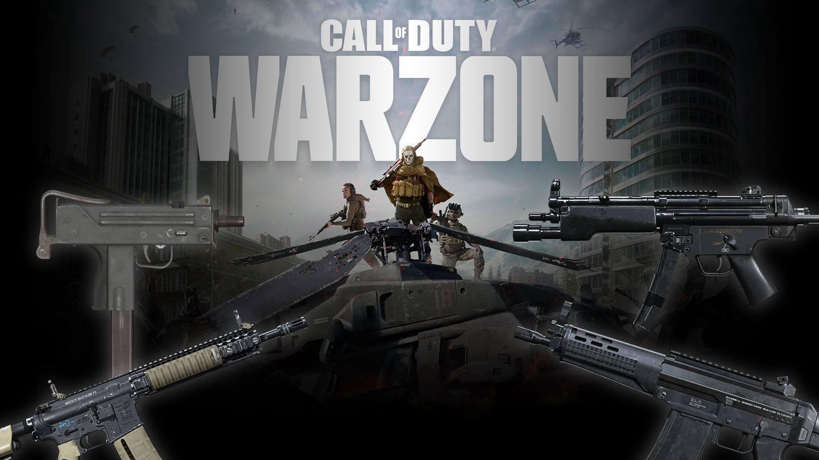 Les armes les plus populaires sur Warzone