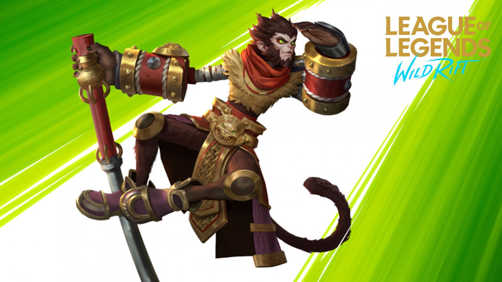Wukong League of Legends Wild Rift