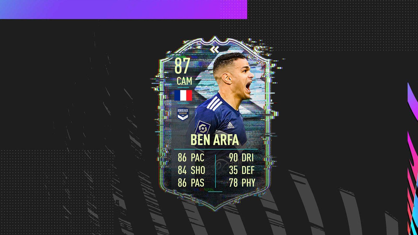 DCE Hatem Ben Arfa Flashback FIFA 21