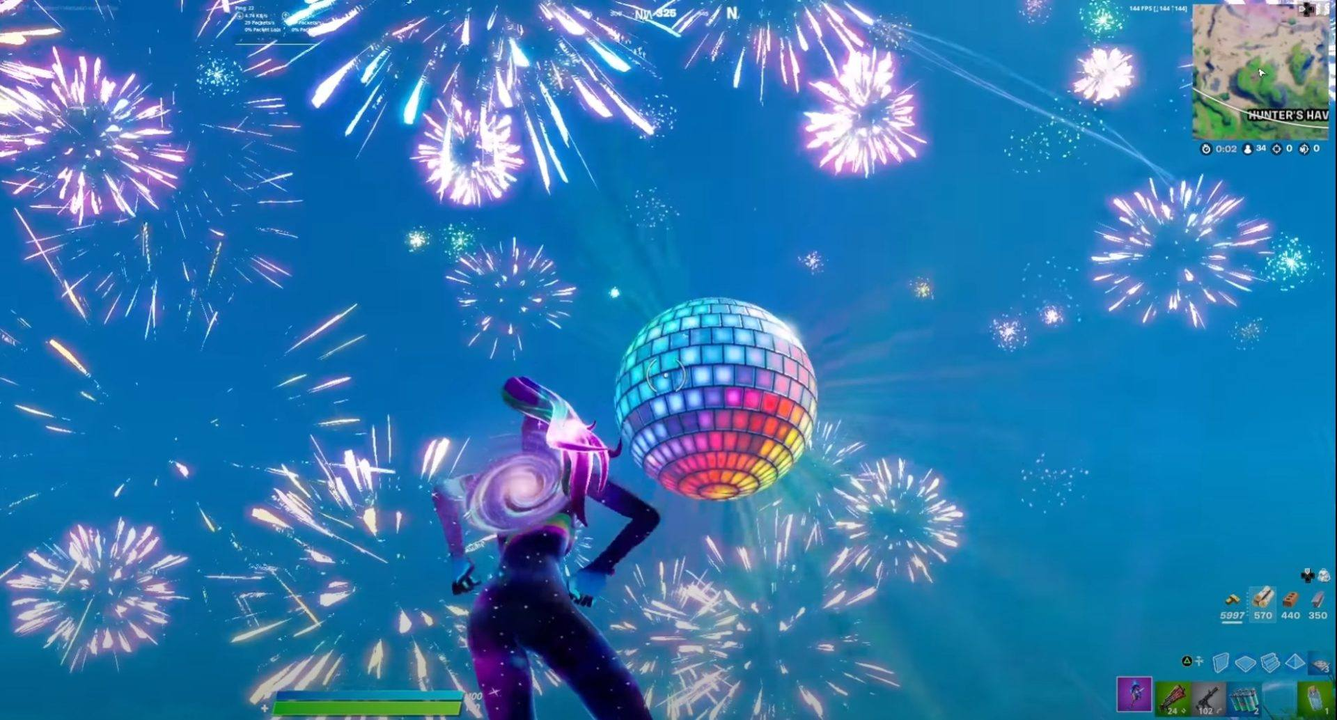 Fortnite Nouvel an 2021 Epic Games