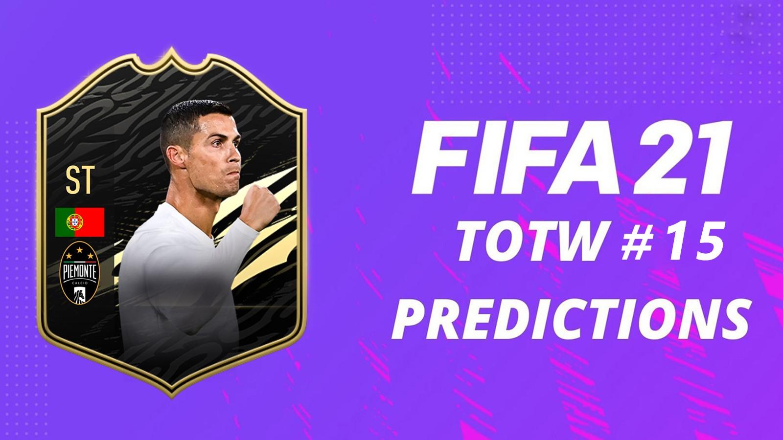 Prédictions TOTW 15 FIFA 21
