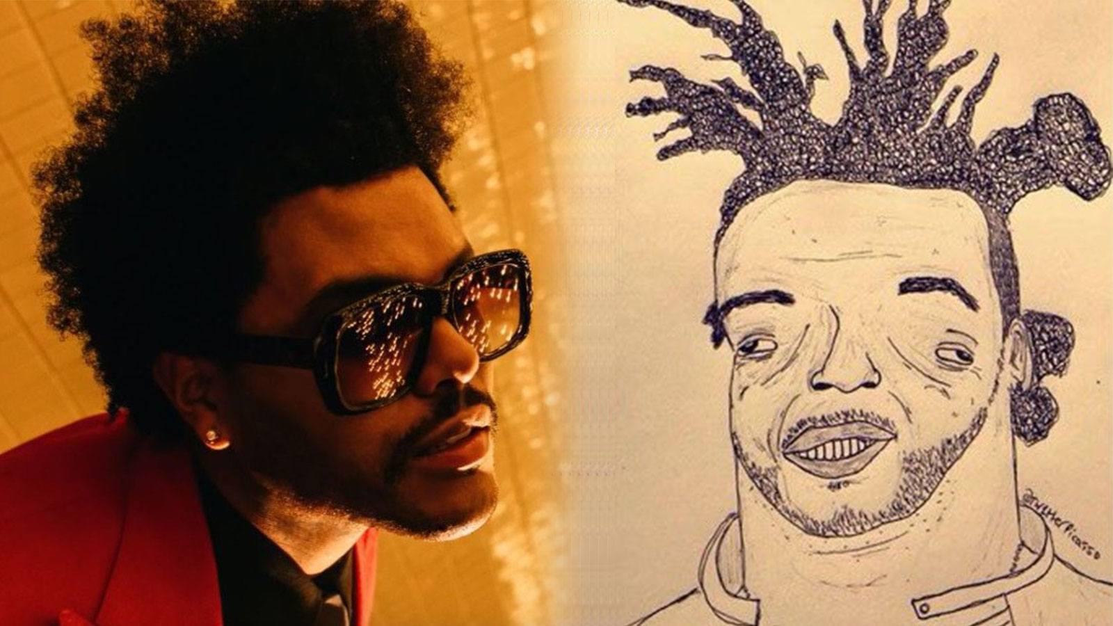 Dessin raté de The Weeknd fait le buzz
