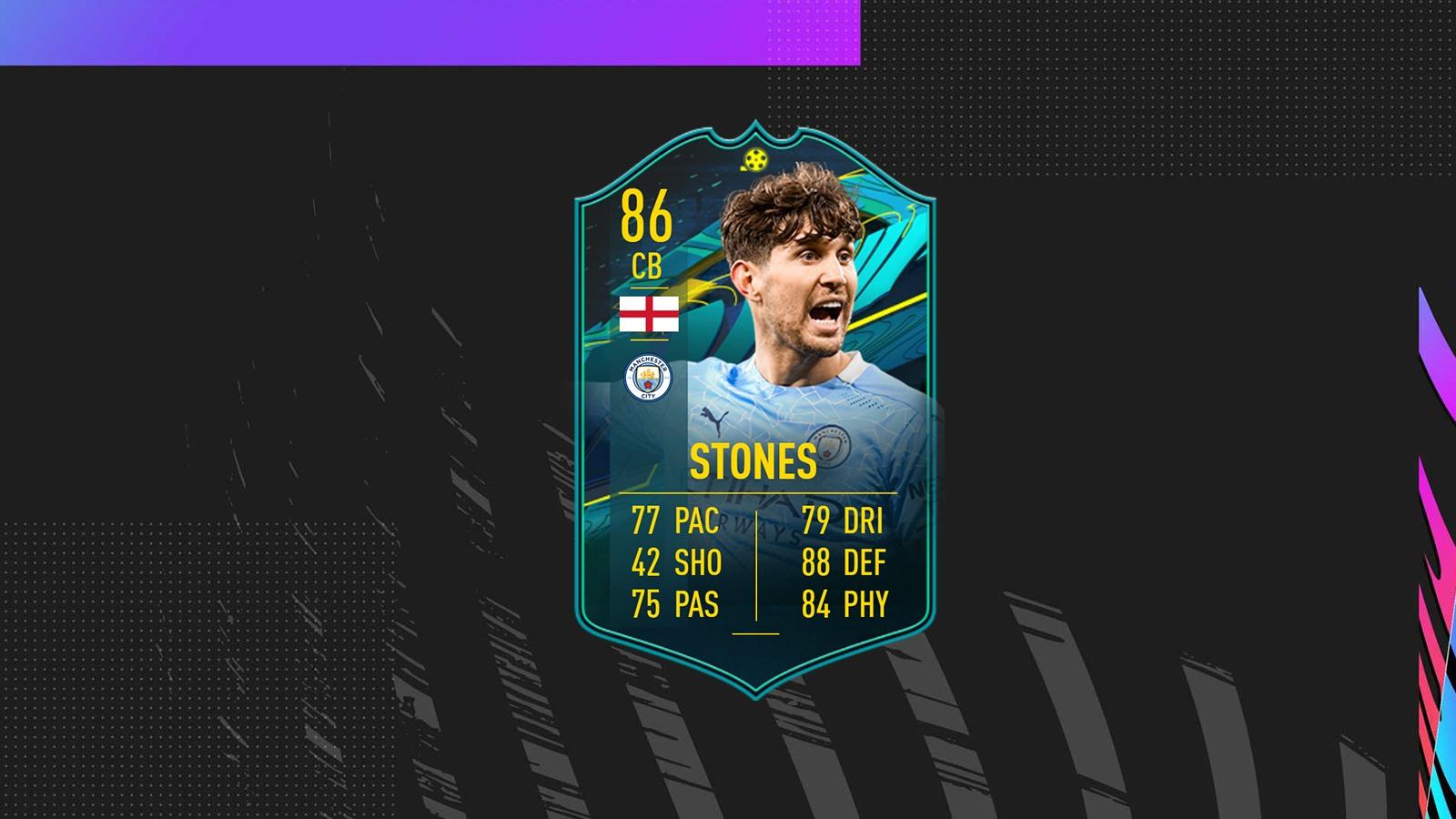 DCE John Stones Moments FIFA 21