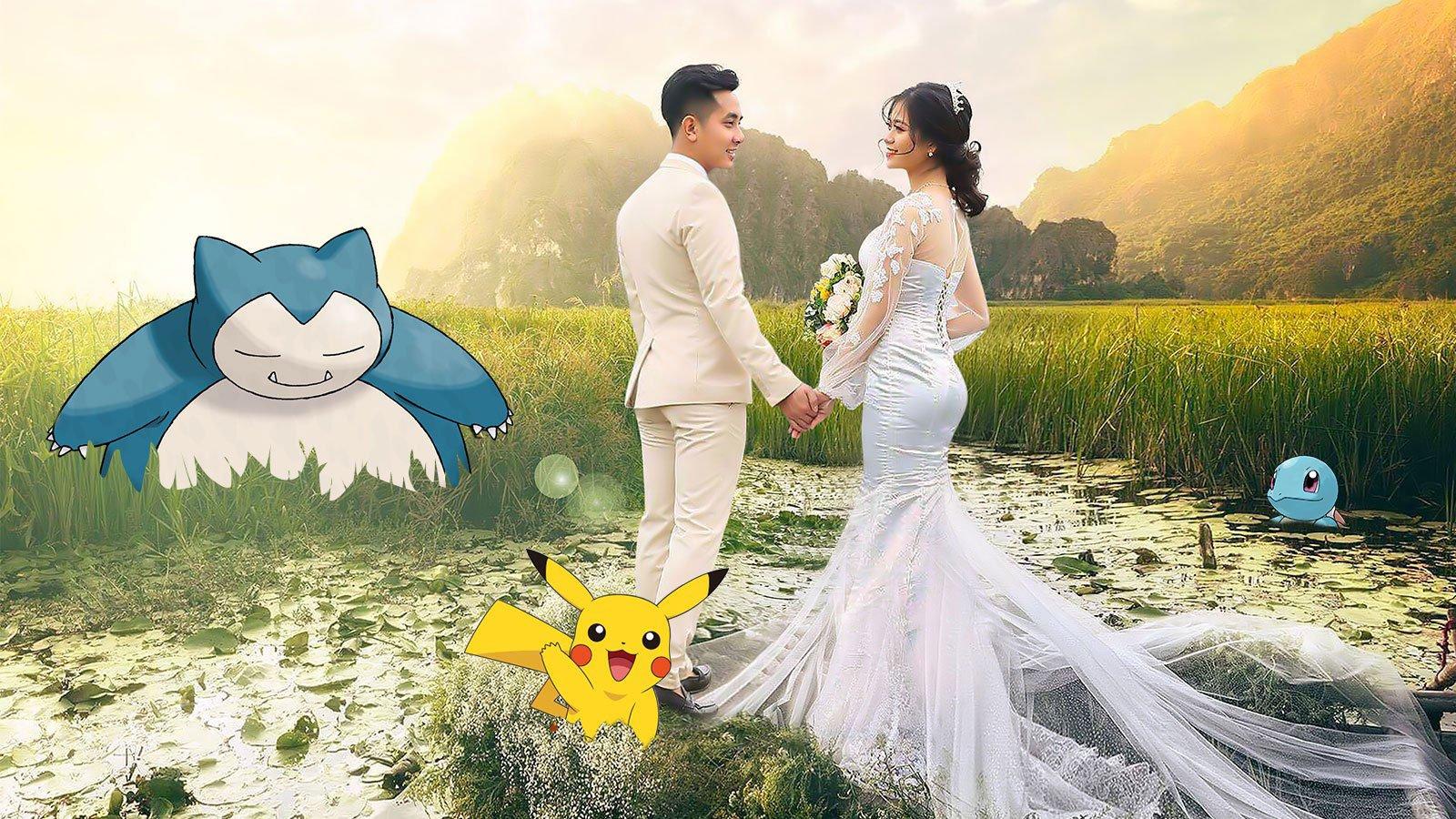 Demande en mariage Pokémon
