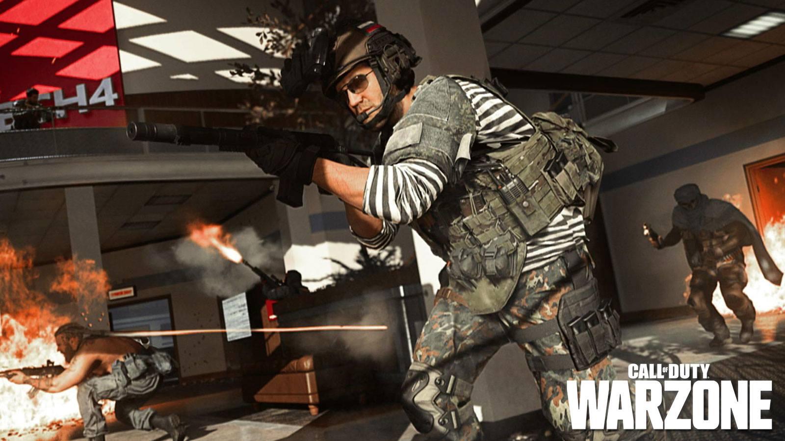 Mise à jour des armes sur Warzone