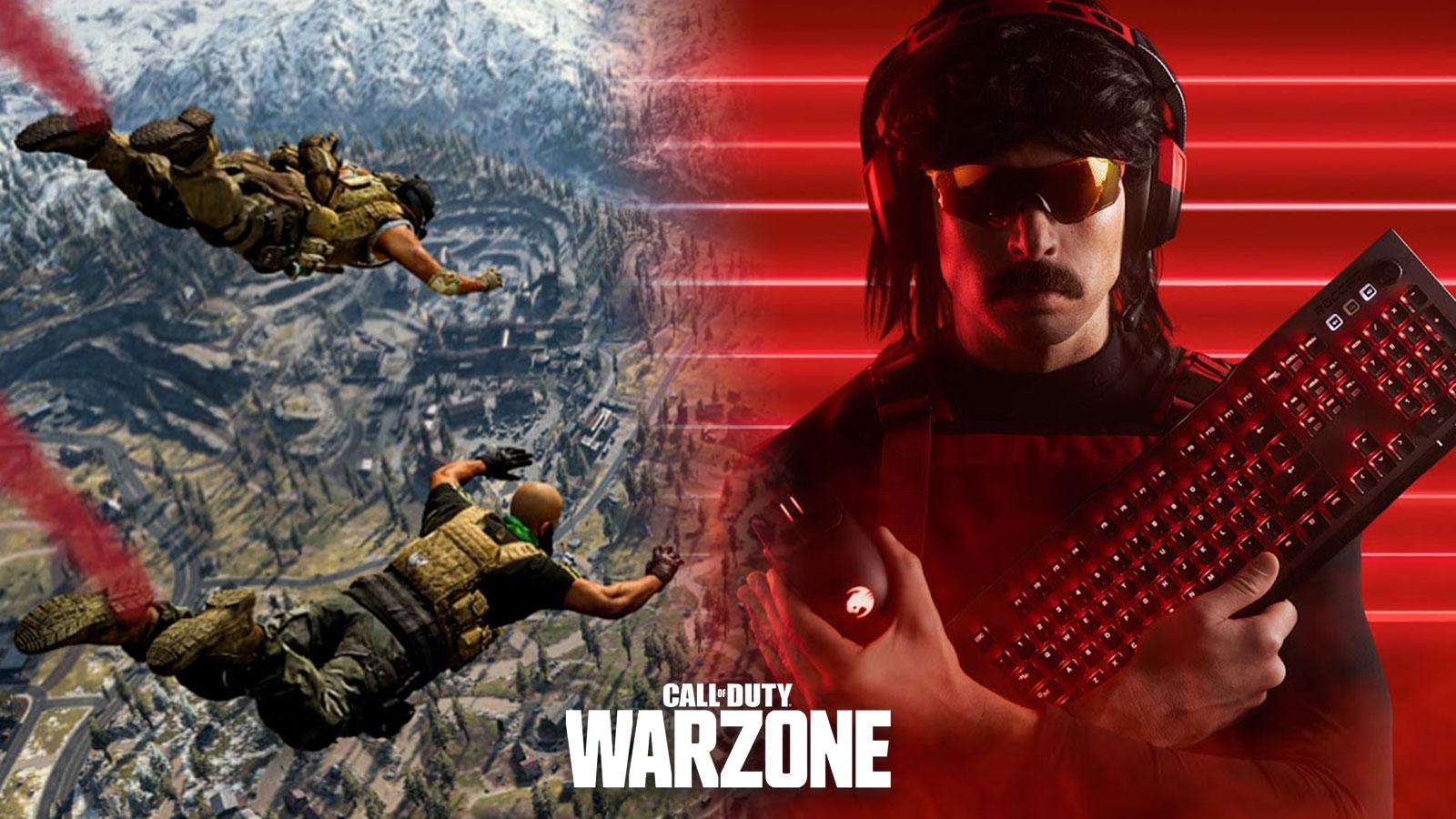 Pour DrDisrespect Warzone aurait beaucoup à apprendre d'Escape from Tarkov