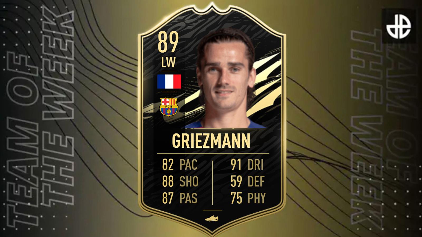 TOTW 16 FIFA 21