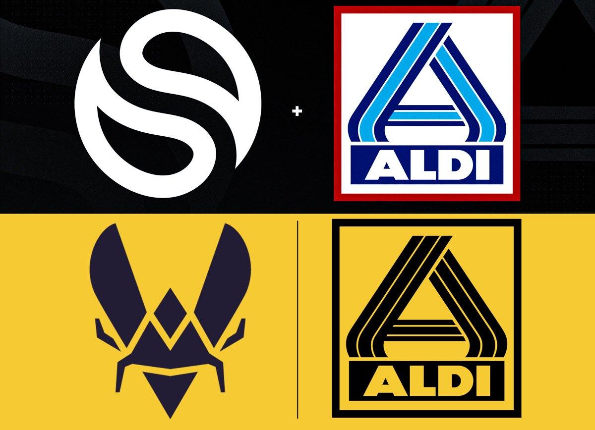 Le partenariat entre Aldi et Solary/Team Vitality