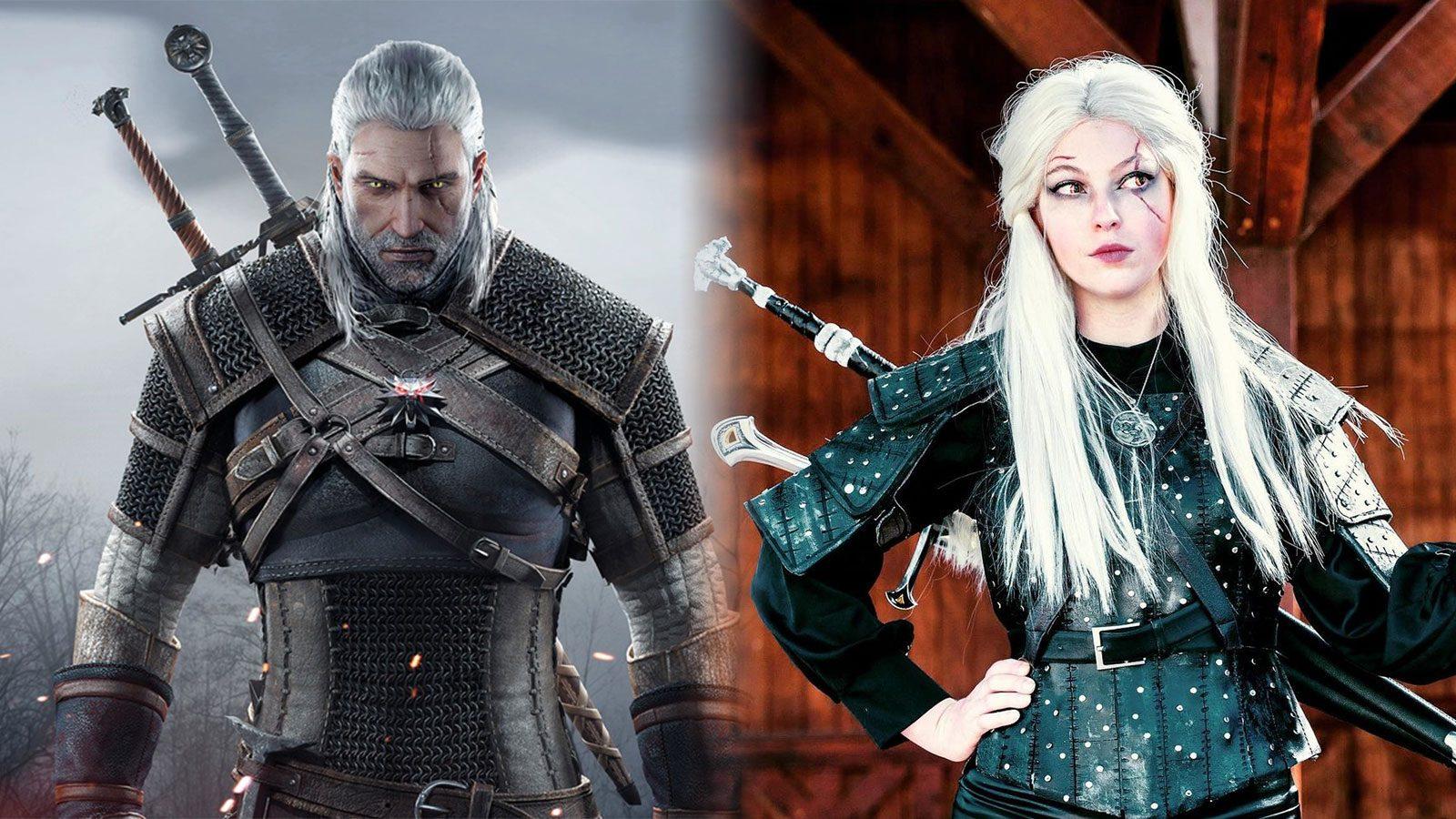 Le cosplay de Geralt de Erin J. B. White