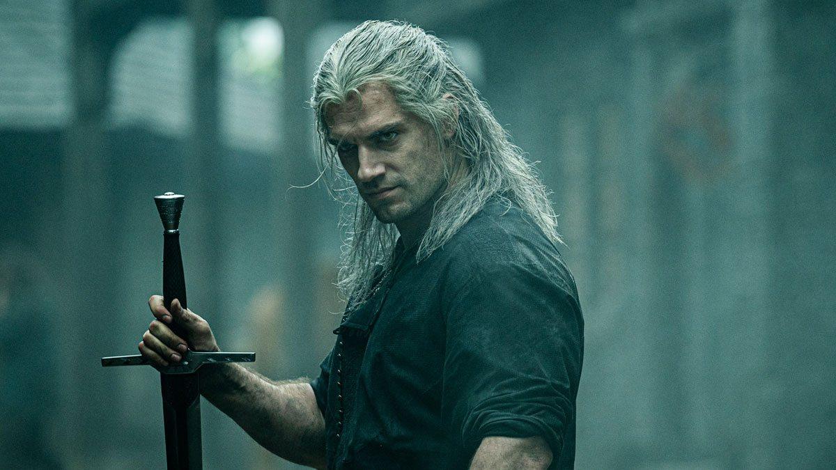 Geralt dans la série Netflix The Witcher