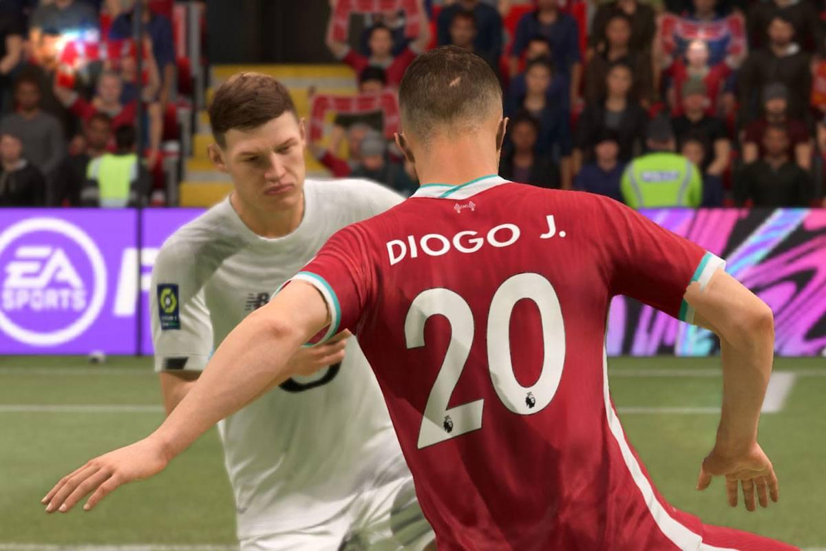 Diogo Jota sur FIFA 21