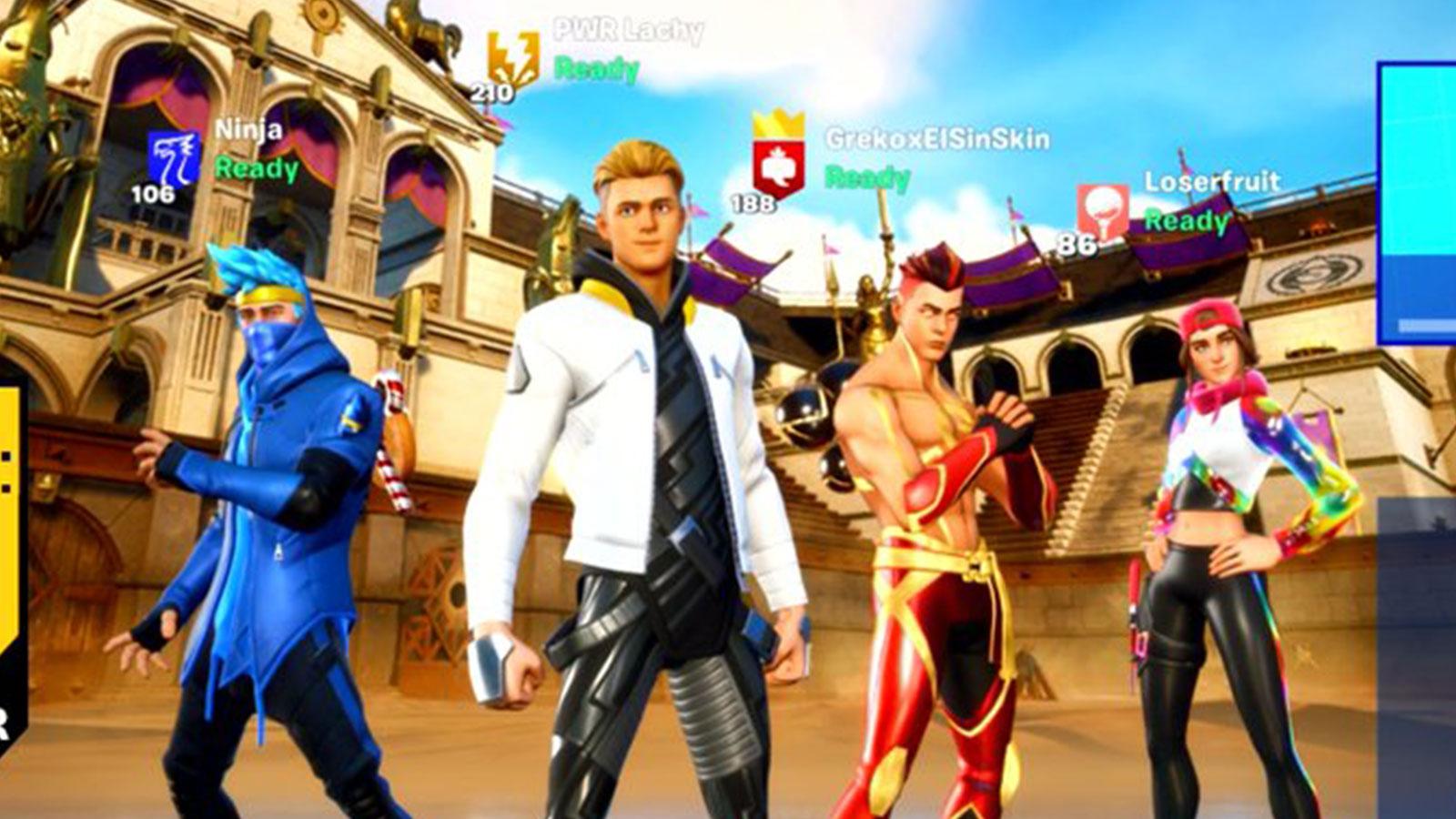 Ninja, TheGrefg, Loserfruit et Lachlan se réunissent pour un live historique