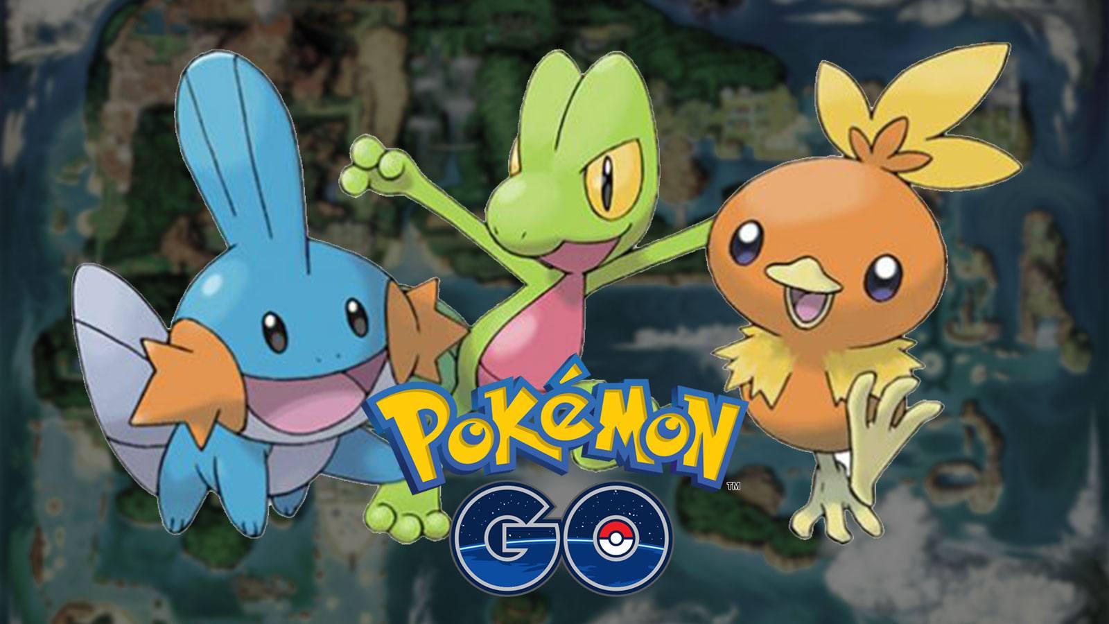 Défi de collection Hoenn sur Pokémon GO