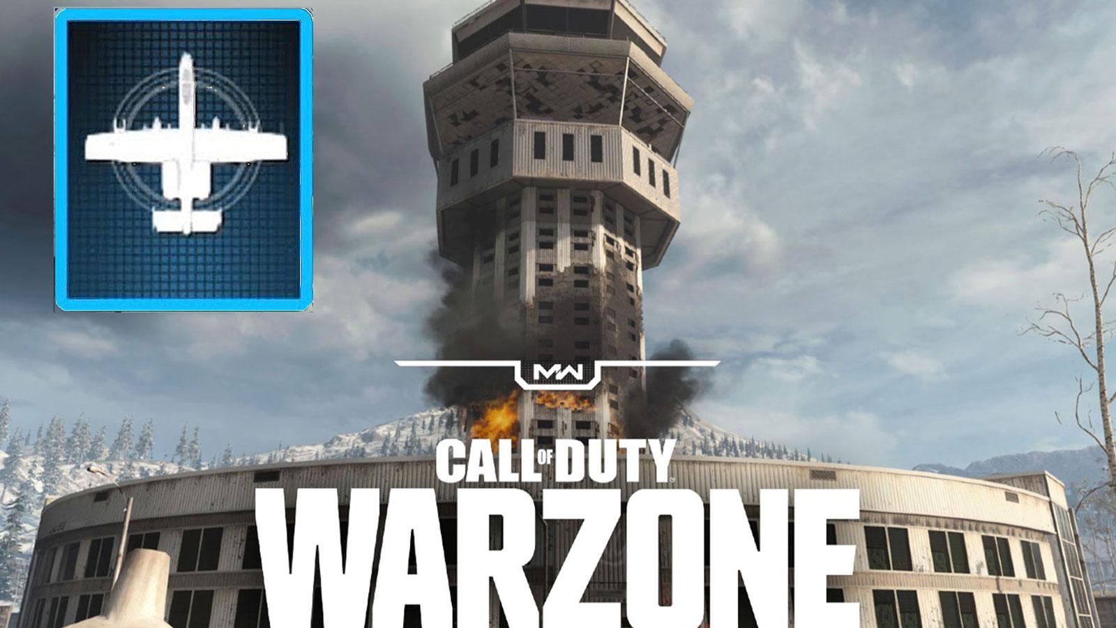 Tour de Warzone, Frappe aérienne