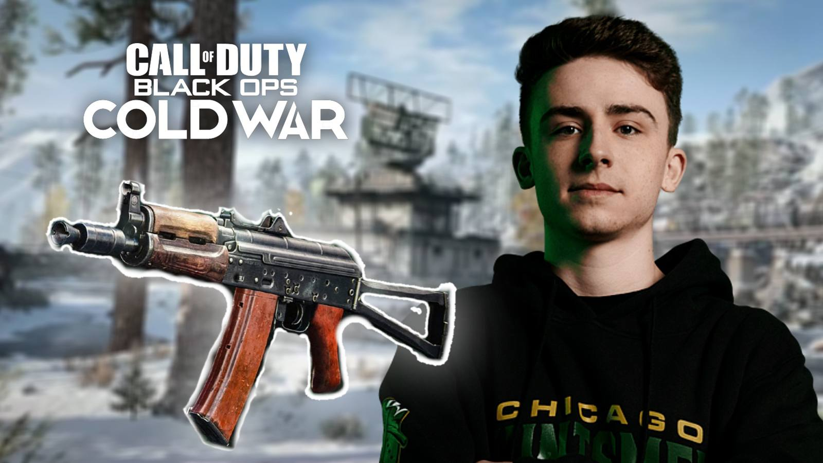 OpTic Envoy AK74u Black Ops Cold War
