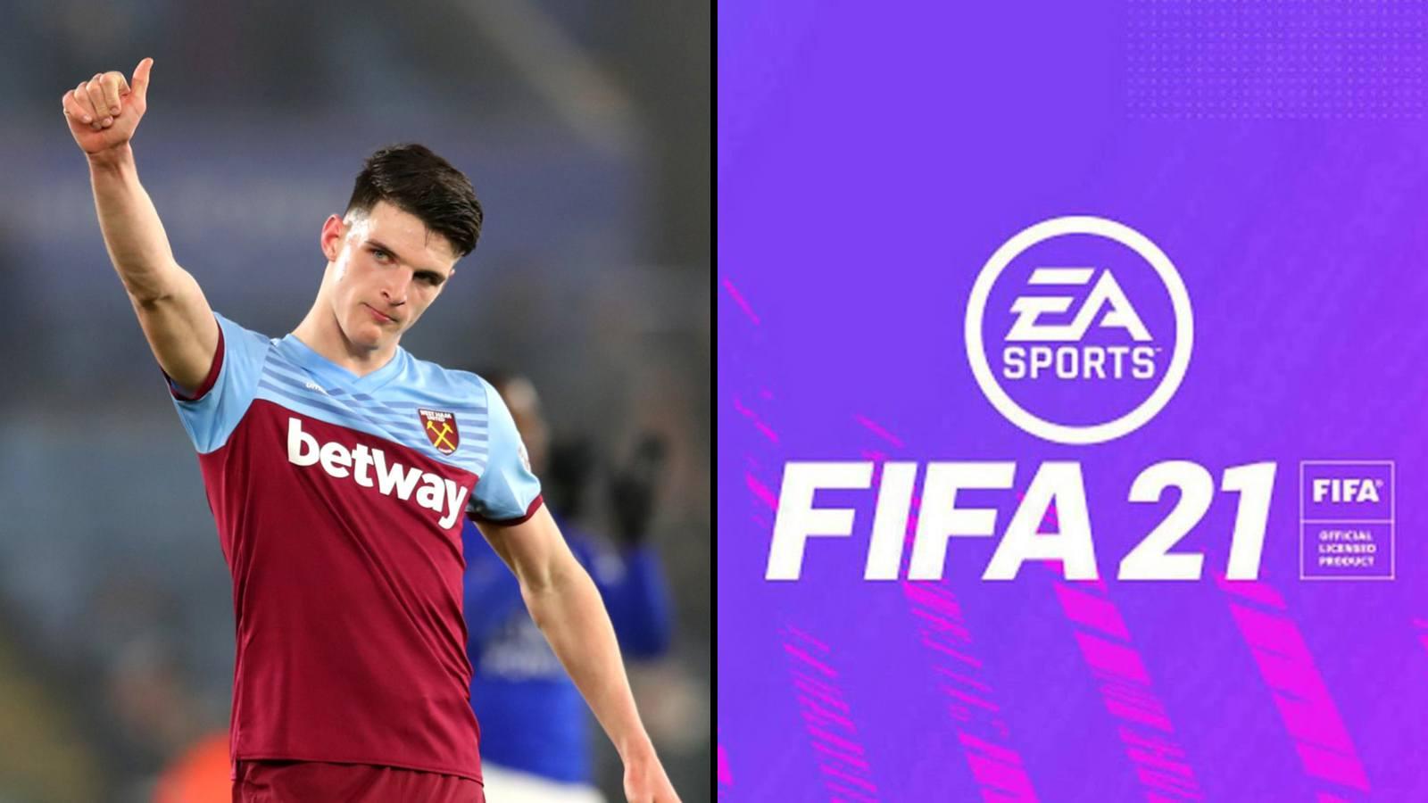 Declan Rice FIFA 21 Ultimate Team