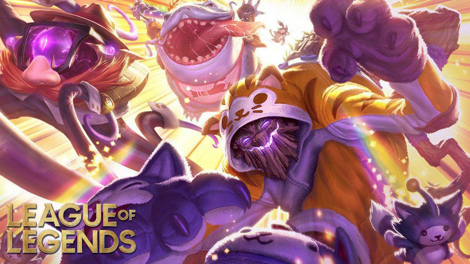 Miaoukai League of Legends Riot Games