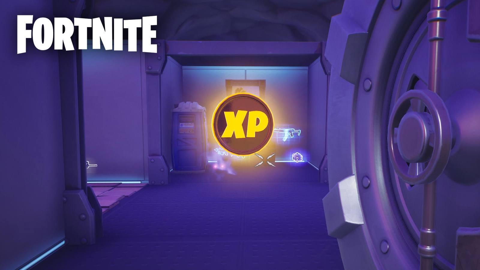 Pièces d'XP Fortnite semaine 8 saison 5