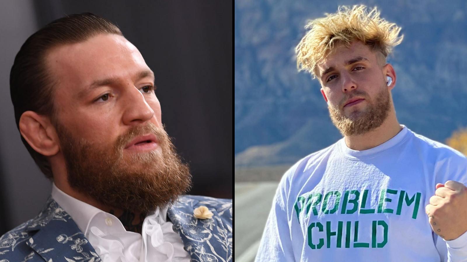 Combat Conor McGregor vs Jake Paul