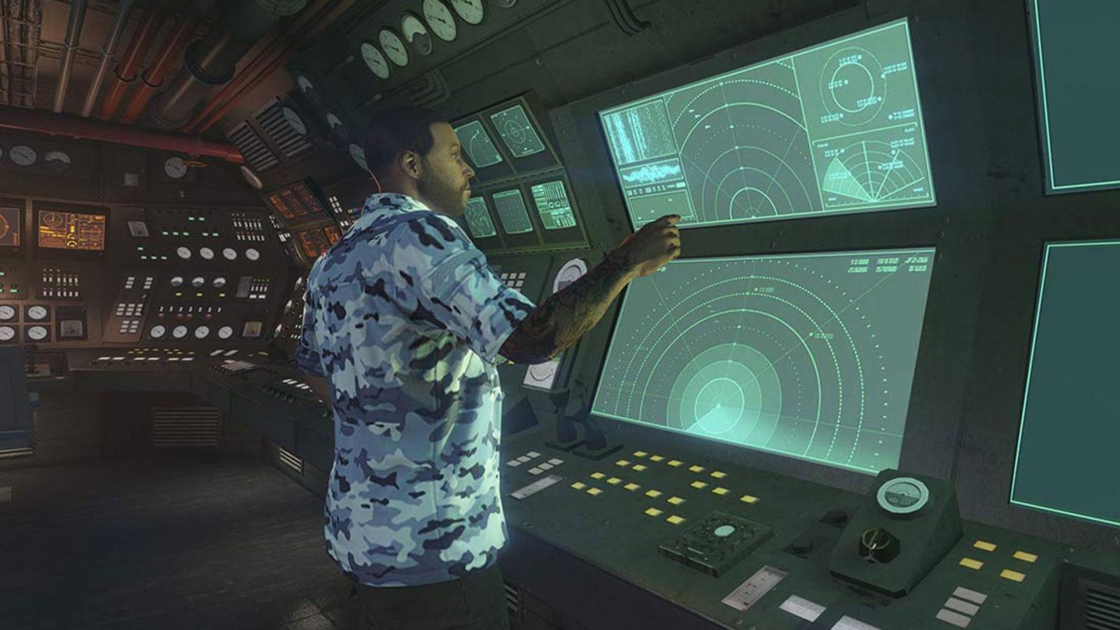 GTA Online Kosatka Sonar du sous-marin