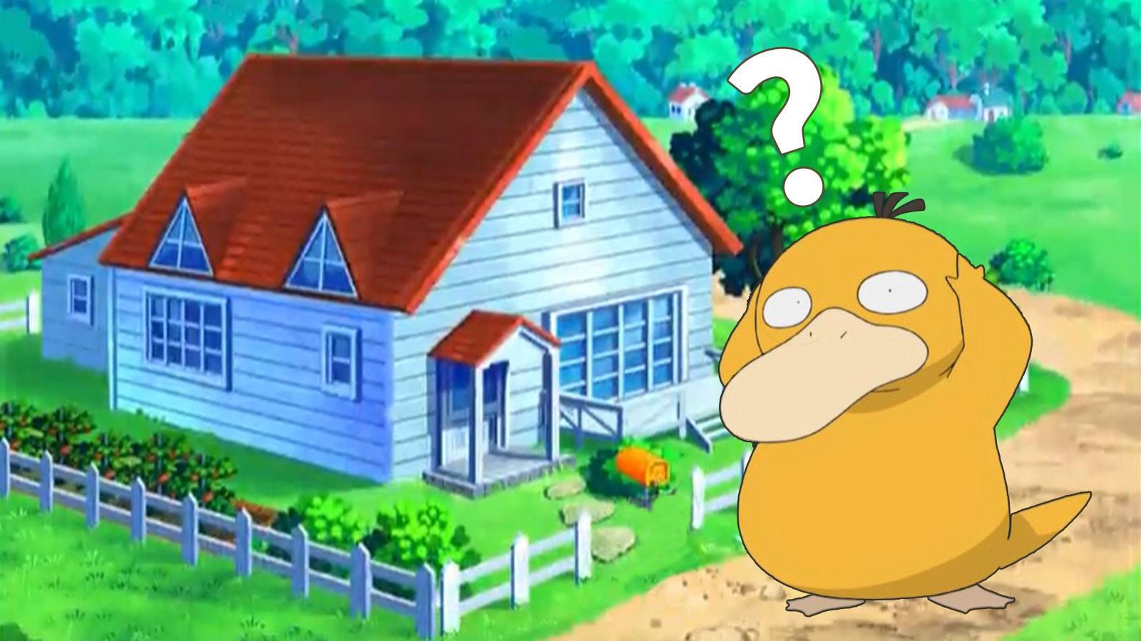 Maison mystérieuse dans Pokémon Épée et Bouclier