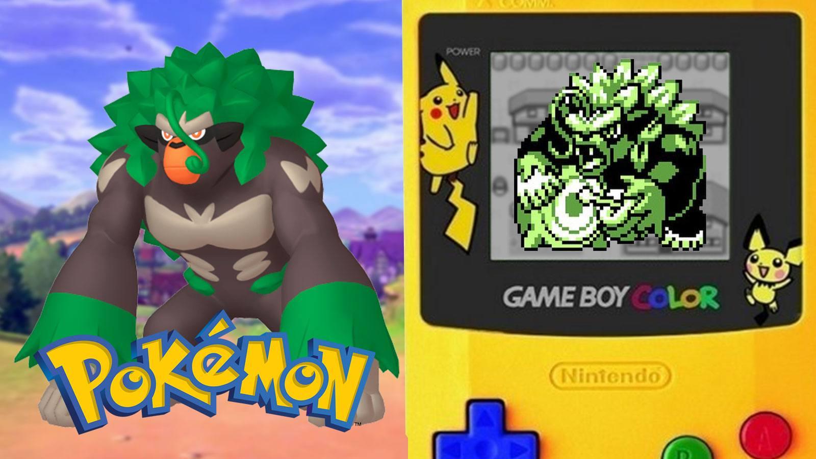 Les pokémon de génération 8 en pixel art