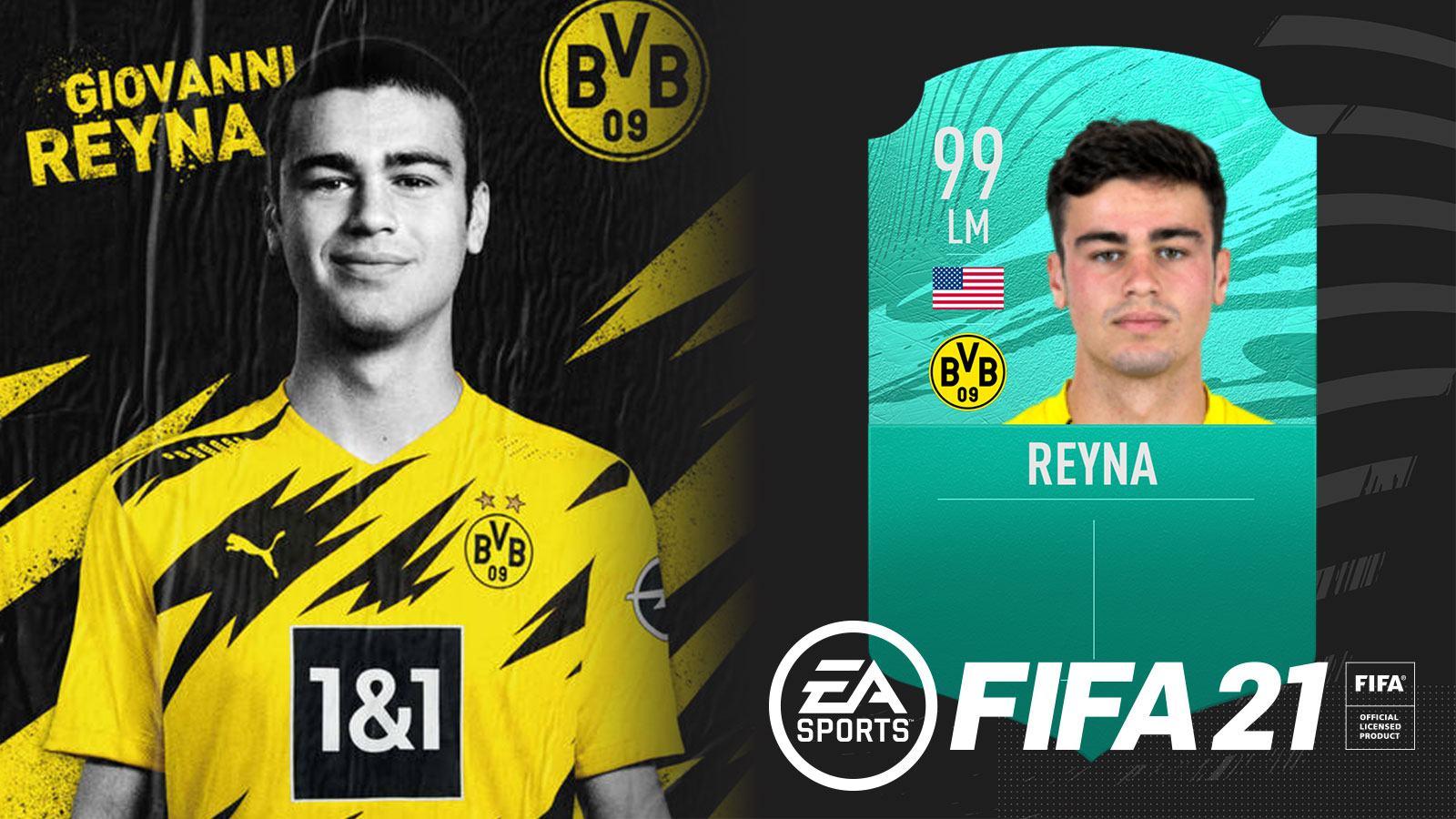 L'équipe FUT de Reyna