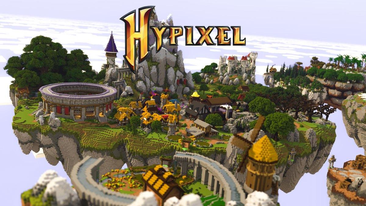 Le serveur Minecraft Hypixel