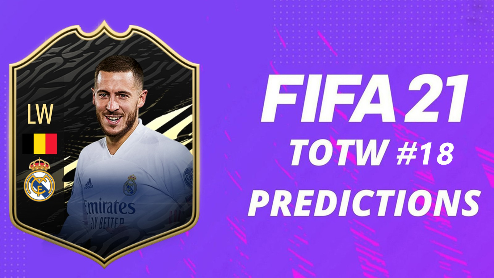 Prédictions TOTW 18 FIFA 21