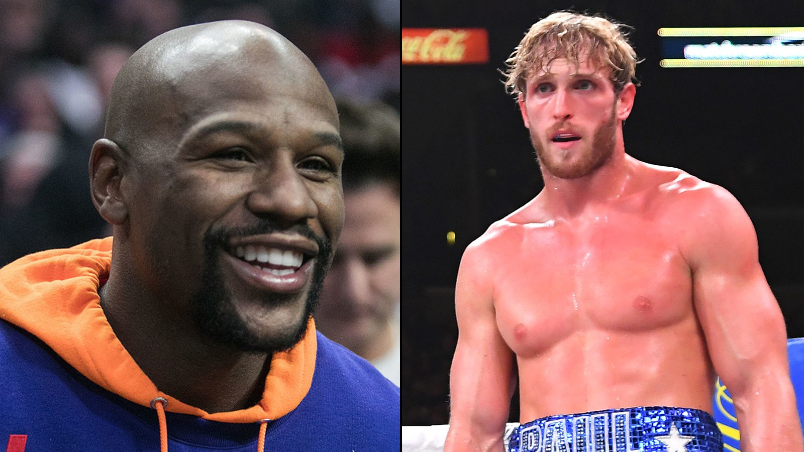 Combat Floyd Mayweather vs Logan Paul