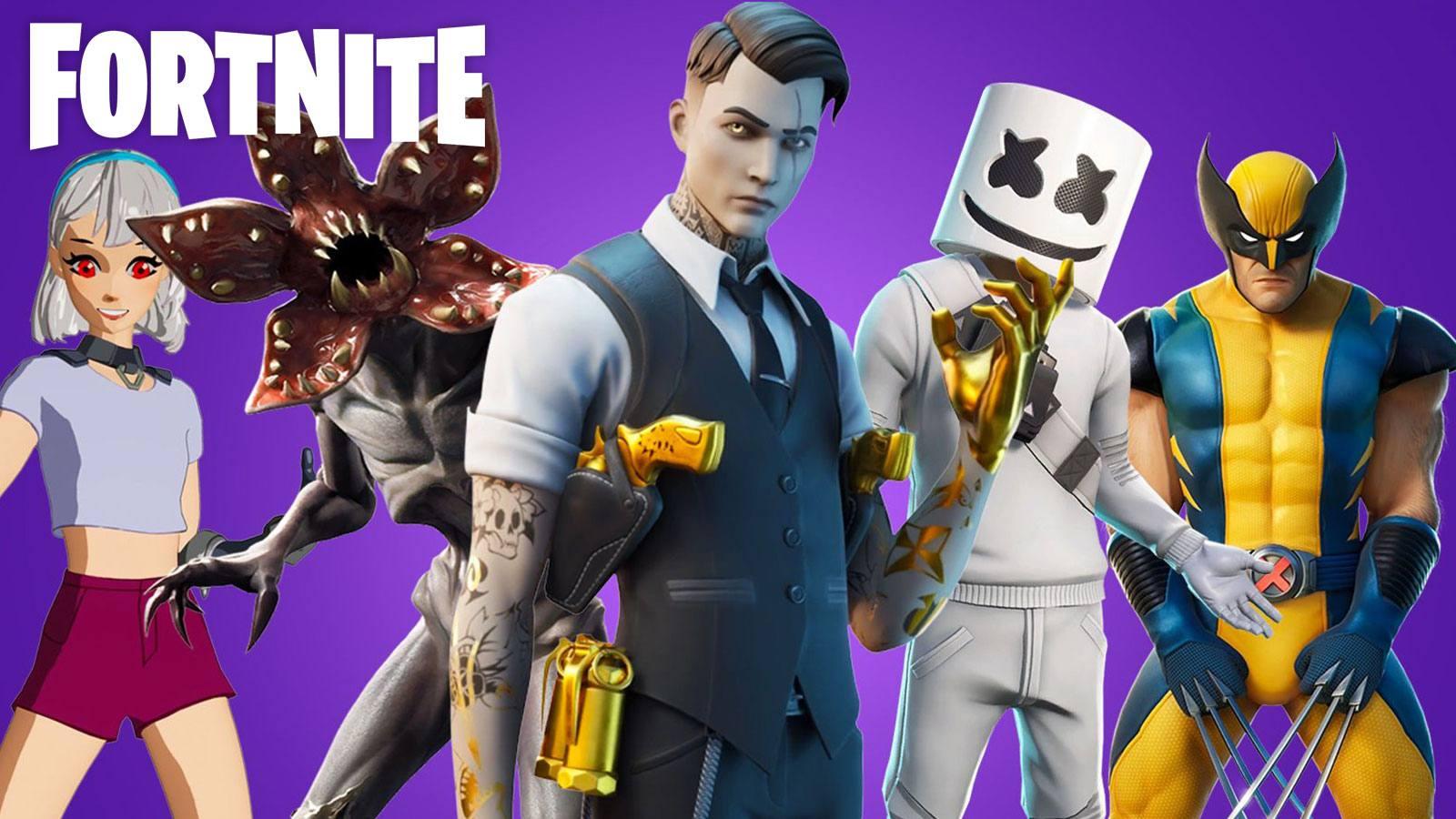 skins Fortnite Epic Games