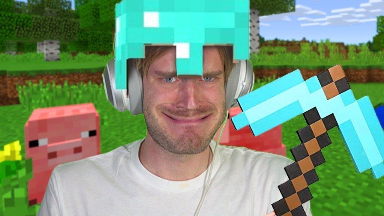 PewDiePie compte bien faire de longues sessions sur Minecraft